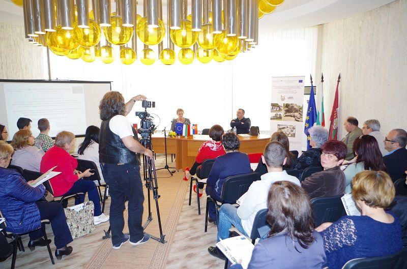 Пресконференция в Правец - 22.03.2017г. - Проект - Правец Сурдулица