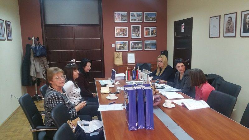Работна среща на екипа в Сурдулица - 16.12.2016г. - Проект - Правец Сурдулица