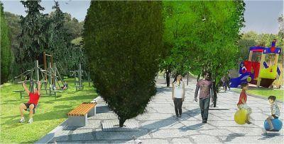 Градски парк в гр. Сурдулица, Сърбия - след 11 - Проект - Правец Сурдулица