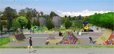 Градски парк в гр. Сурдулица, Сърбия - след 16 - Проект - Правец Сурдулица