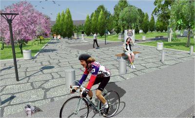 Градски парк в гр. Сурдулица, Сърбия - след 17 - Проект - Правец Сурдулица
