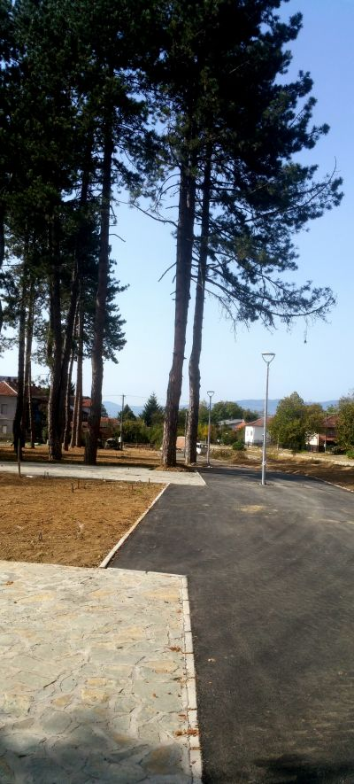 Градски парк в гр. Сурдулица, Сърбия - след 18 - Проект - Правец Сурдулица