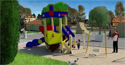 Градски парк в гр. Сурдулица, Сърбия - след 19 - Проект - Правец Сурдулица